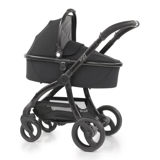 egg Stroller Special Edition with Carrycot - Just Black - Pushchair Expert