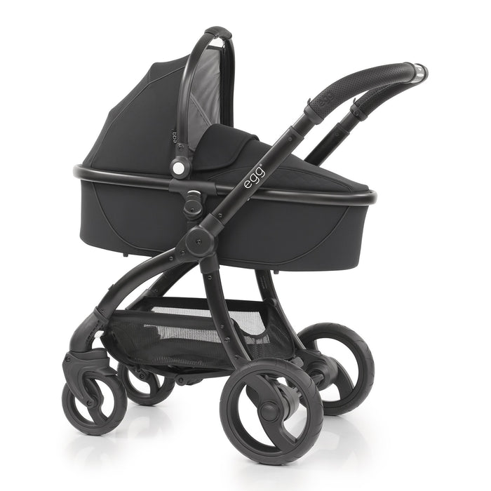 egg Travel System Just Black with Cybex Cloud Z and base