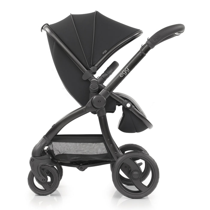 egg Stroller travel system bundle - Just Black - Pushchair Expert