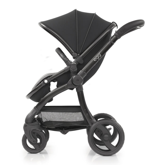 egg Stroller Special Edition with Carrycot - Just Black