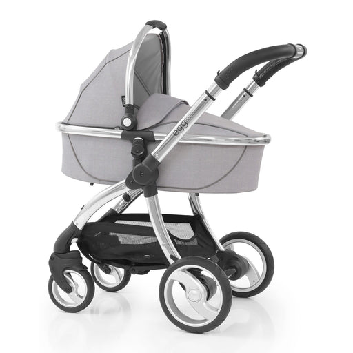 egg Stroller with Carrycot - Platinum