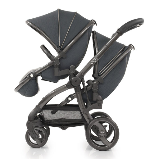 PENDING APPROVAL: egg Tandem Stroller Carbon Grey - Pushchair Expert