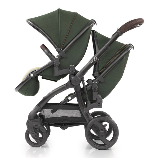 egg Tandem Stroller Country Green - Pushchair Expert