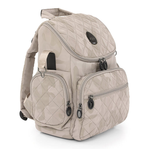 egg Changing Backpack - Camo Sand