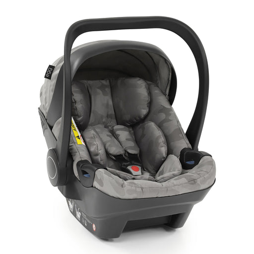 egg Shell i-Size infant car seat - Camo Grey - Pushchair Expert