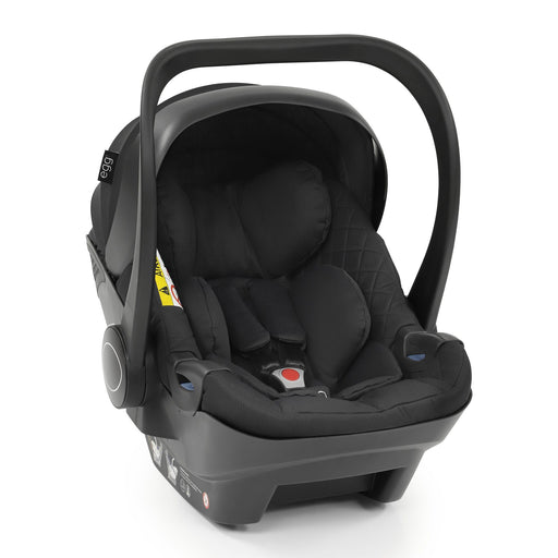 egg Shell i-Size infant car seat - Just Black - Pushchair Expert