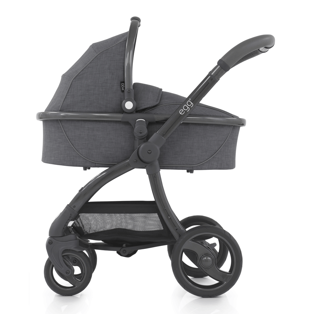 egg Stroller with Carrycot - Quantum Grey