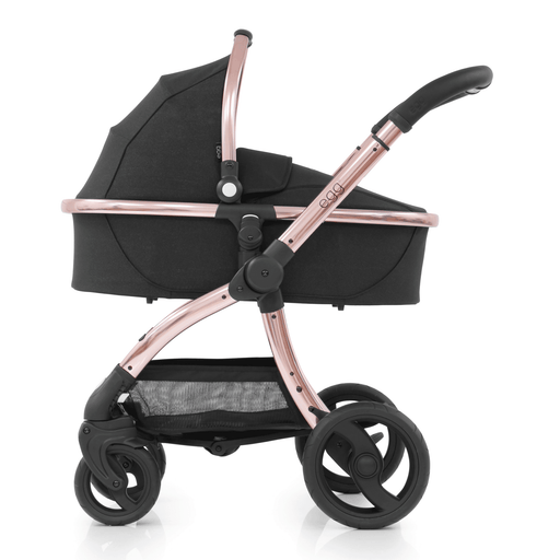 egg Stroller with Carrycot - Diamond Black - Pushchair Expert