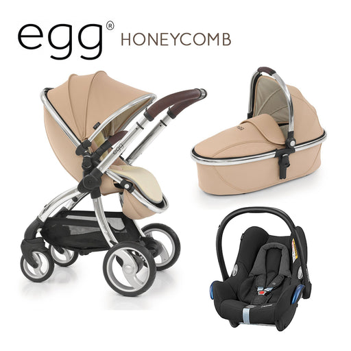 egg Stroller Honeycomb Travel System with Maxi-Cosi Cabriofix - Pushchair Expert