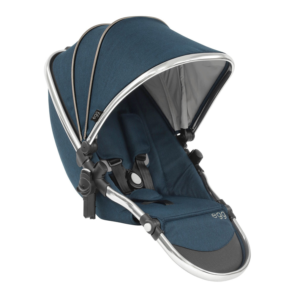 egg Tandem Seat - Deep Navy - Pushchair Expert