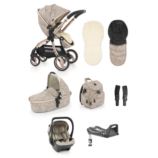 egg Stroller travel system bundle  - Camo Sand - Pushchair Expert