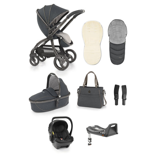 egg Stroller travel system bundle - Carbon Grey - Pushchair Expert