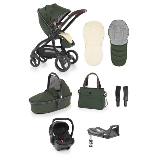 egg Stroller travel system bundle - Country Green - Pushchair Expert