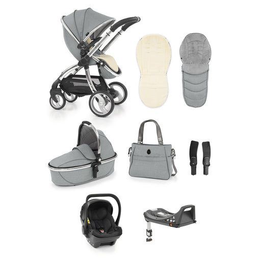 egg Stroller travel system bundle - Platinum - Pushchair Expert