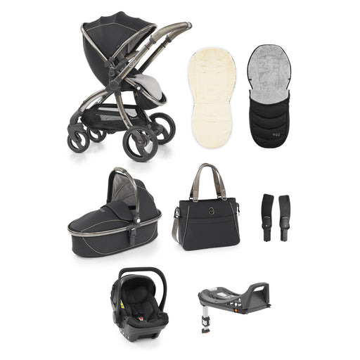 egg Stroller travel system bundle - Shadow Black - Pushchair Expert