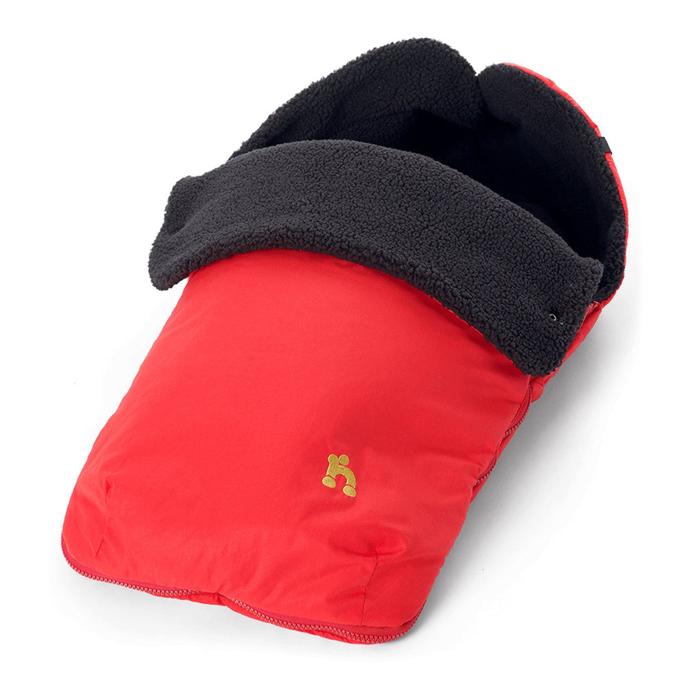 Out'n'About Footmuff Carnival Red - Pushchair Expert