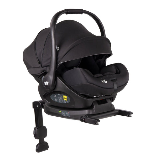 Joie i-Level i-Size Car Seat 2.0 inc. Base LX - Coal (Black) 2020 - Pushchair Expert