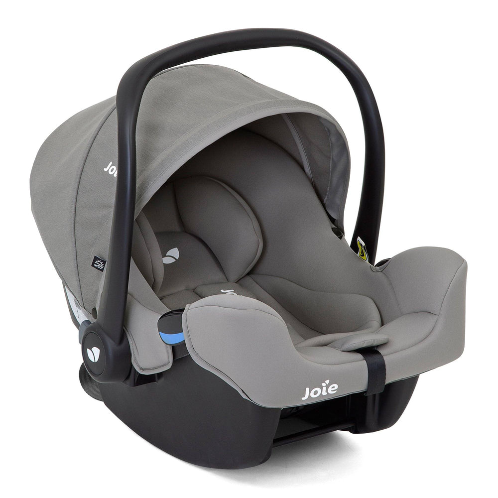 Joie i-Snug i-Size infant carrier - Grey Flannel - Pushchair Expert