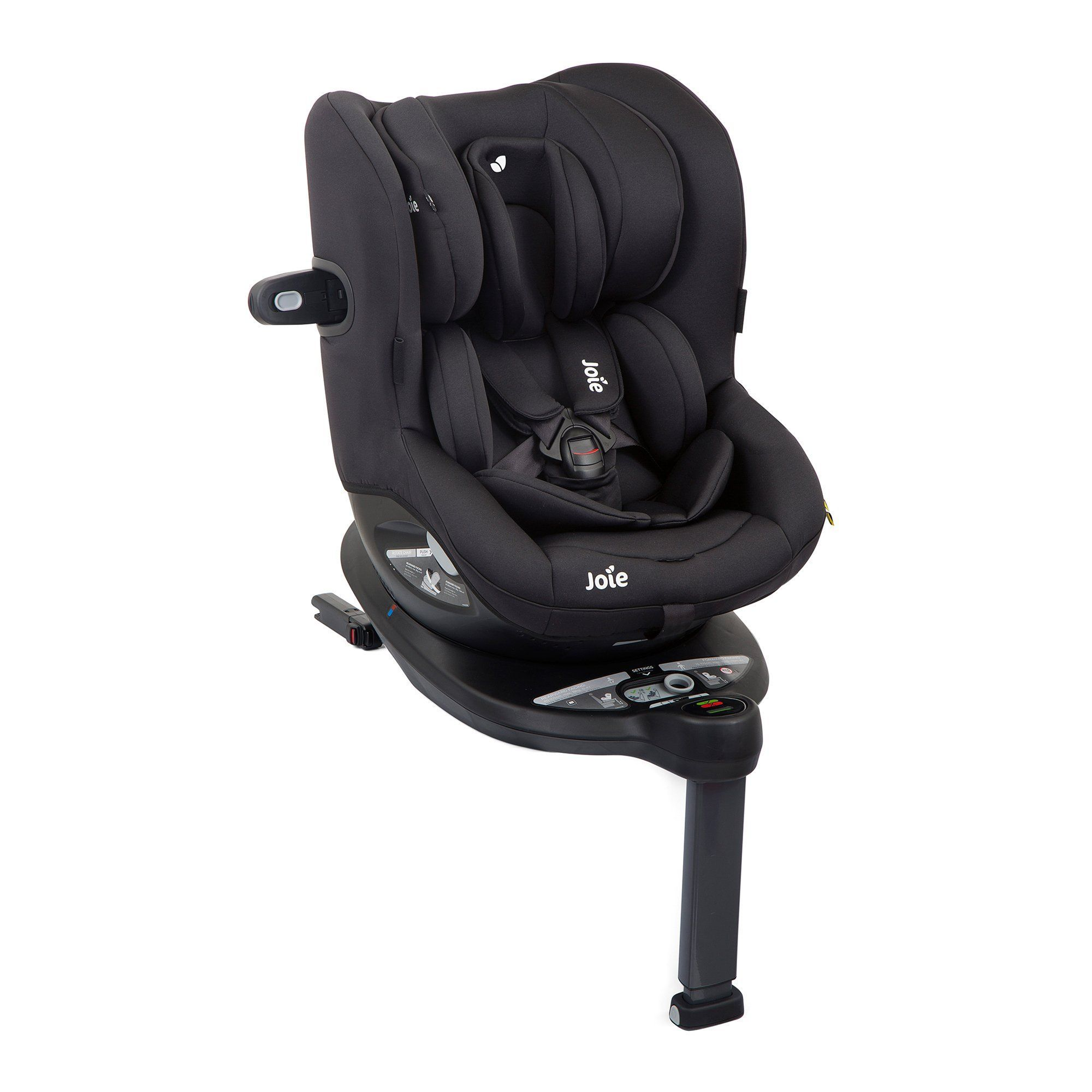 Joie i-Spin 360 0-4 Years i-Size Car Seat - Coal (Black) - Pushchair Expert