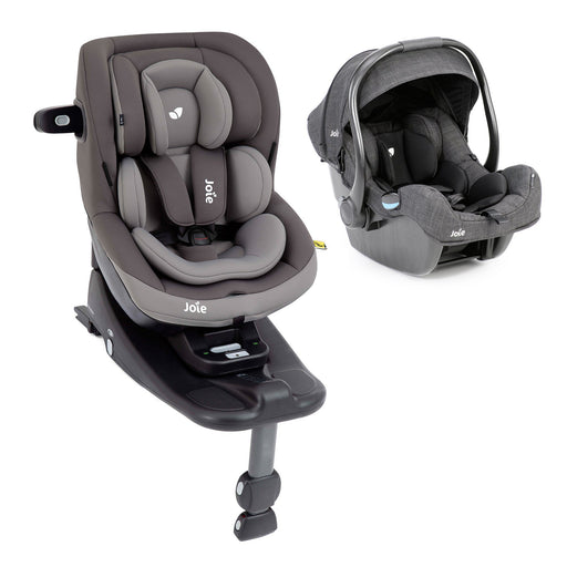 Joie i-Venture (Dark Pewter), i-Gemm and i-Base Advance newborn-4 years i-Size bundle - Pushchair Expert