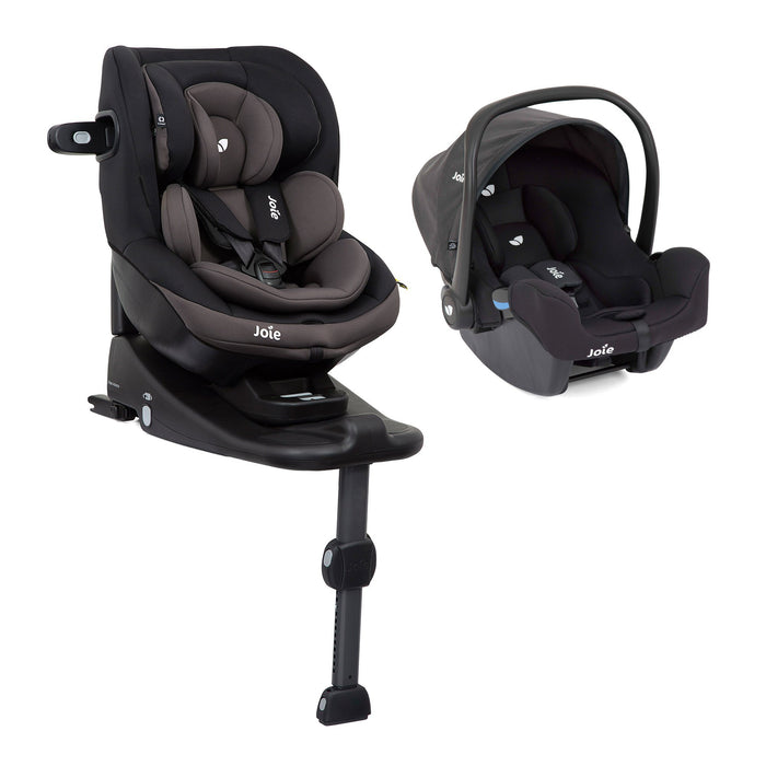 Joie i-Venture (Ember), i-Snug and i-Base Advance newborn-4 years i-Size bundle - Pushchair Expert