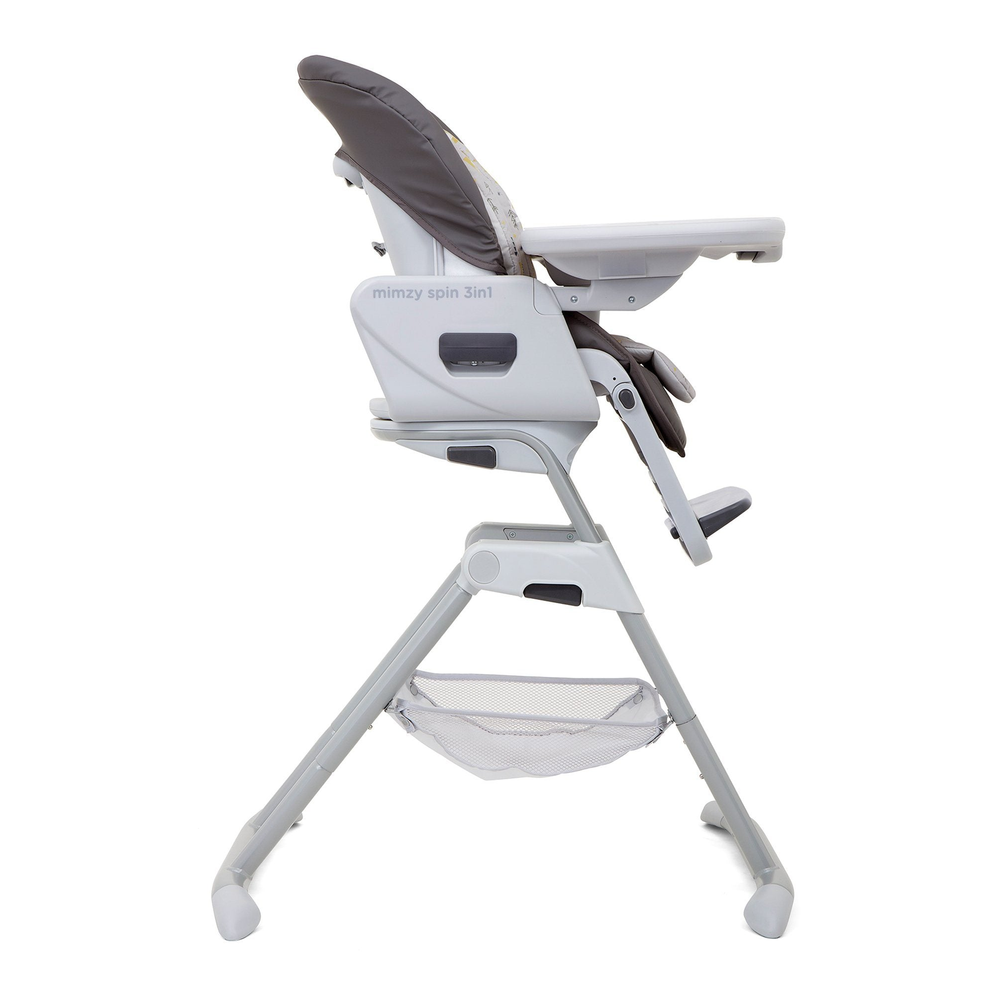 Joie Mimzy Spin 3-in-1 Highchair - Geometric Mountains - Pushchair Expert