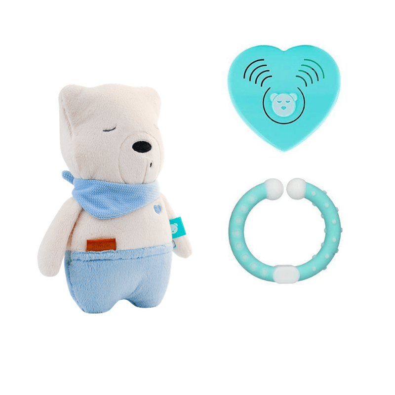 myHummy - Simon with Bluetooth Humming Heart - Pushchair Expert