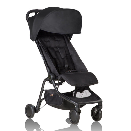Mountain Buggy Nano - Black - Pushchair Expert