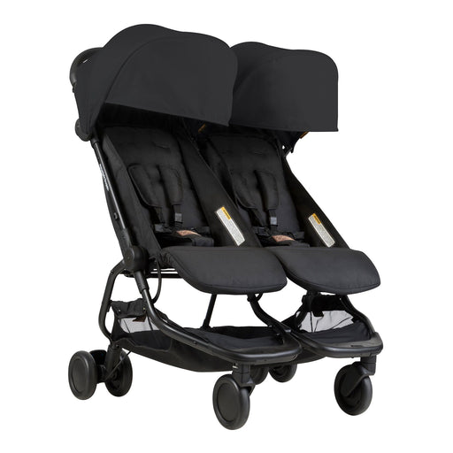 Mountain Buggy Nano Duo - Black - Pushchair Expert