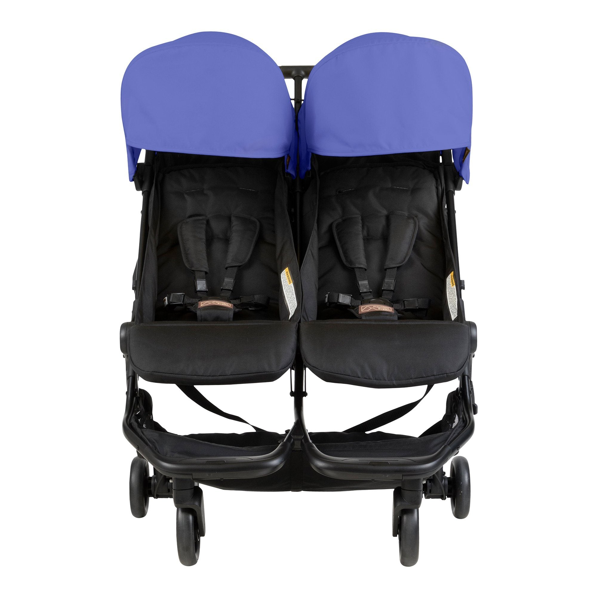Mountain Buggy Nano Duo - Nautical - Pushchair Expert