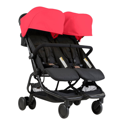 Mountain Buggy Nano Duo - Ruby - Pushchair Expert