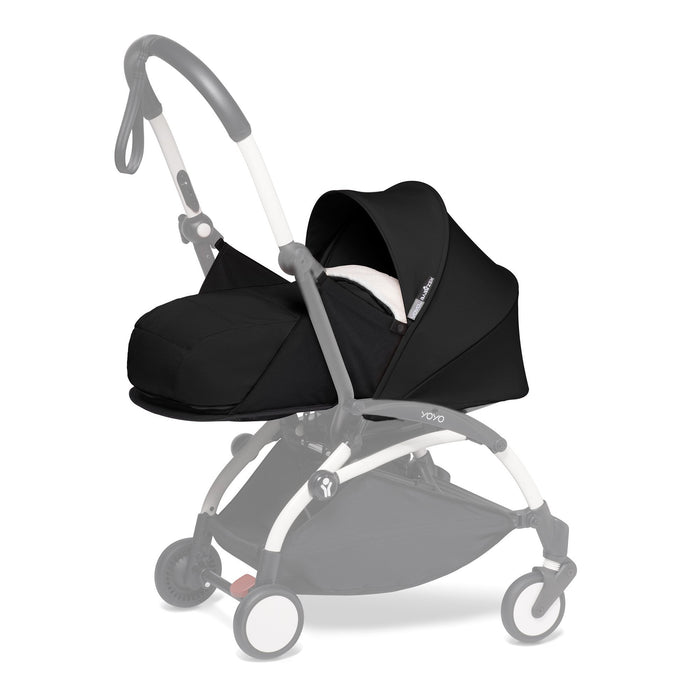 Babyzen YOYO 2 Newborn Pack - Black - Pushchair Expert
