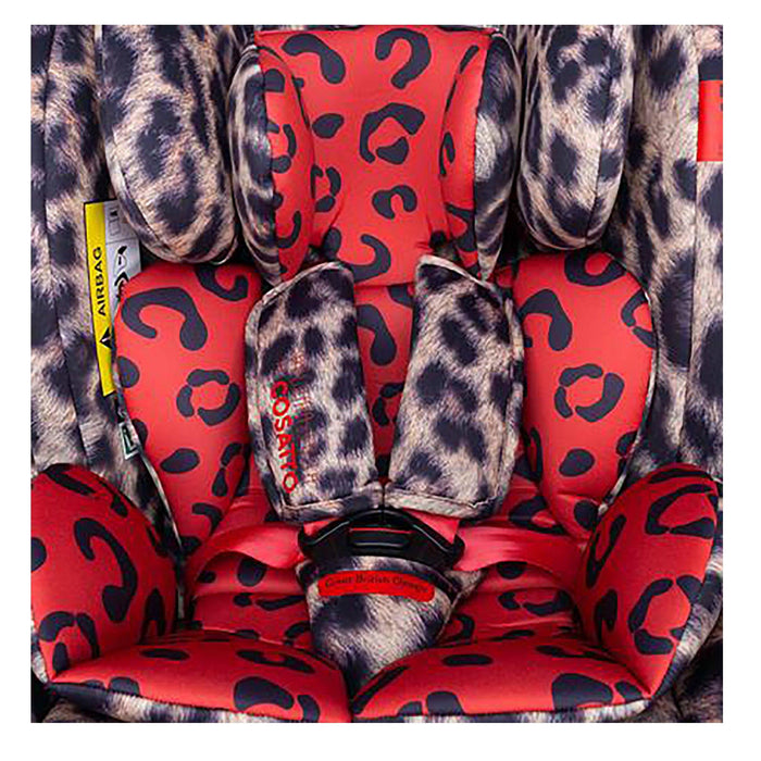 Cosatto All in All Rotate Group 0+/1/2/3 car seat - Paloma Faith Hear Us Roar - Pushchair Expert