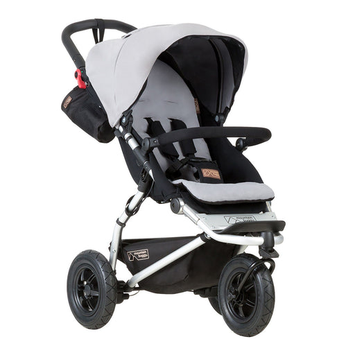Mountain Buggy Swift - Silver - Pushchair Expert