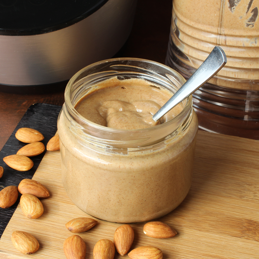 The Best Fresh Homemade Almond Butter