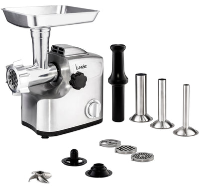 luvele-eu - Luvele Ultimate Electric Meat Grinder | Sausage Maker |  1800w (700w rated)