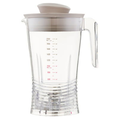 Replacement Plastic Vibe Blender Jug 2L