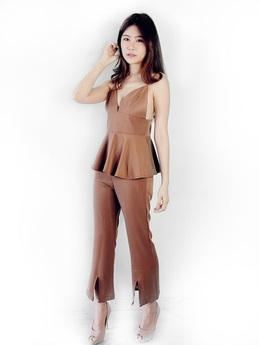 Samantha Set Wear (Brown)