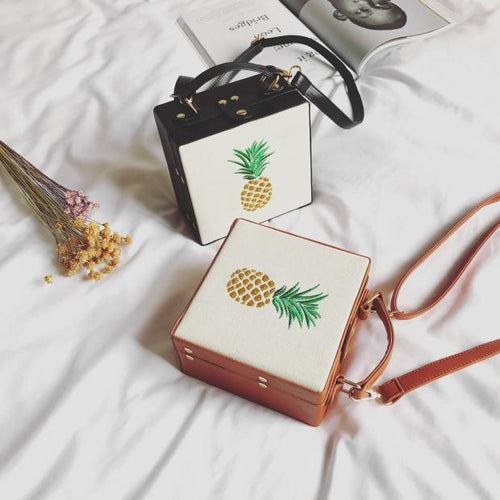 PINEAPPLE SQUARE BAG