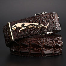 Jaguar Crocodile Belt