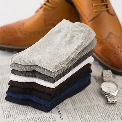 100% Cotton Socks (5 Pairs and Various Colours)
