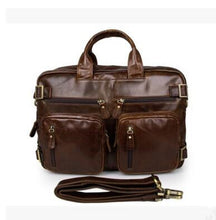 Genuine Leather Laptop Tote