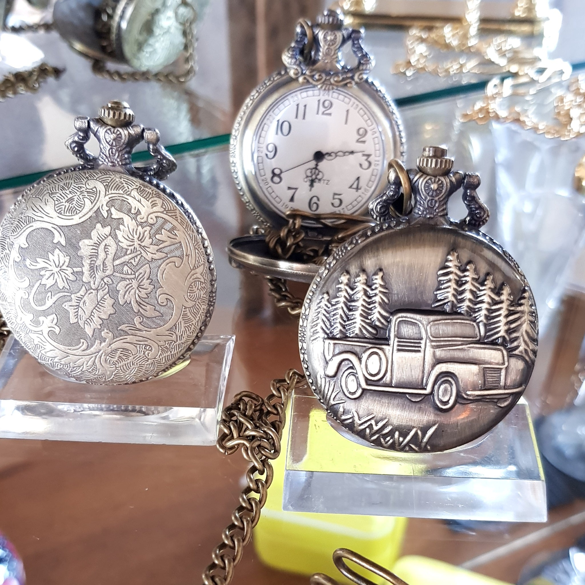 Pocket Watches Plain,Patterned Skeletons Mechanical