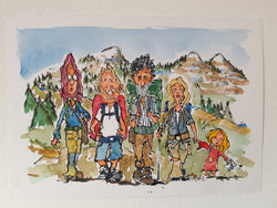 "Original ""nomad hikers"""