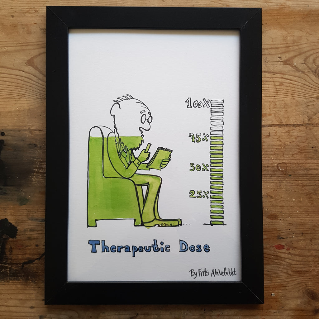 "Artprint ""Therapeutic dosis"""