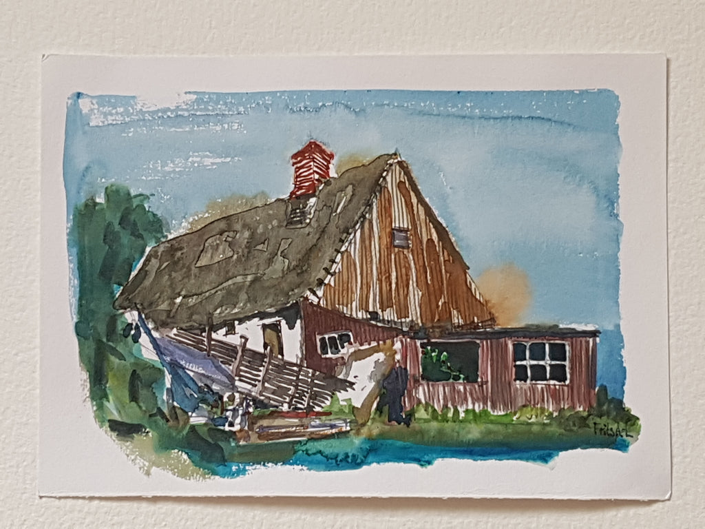 "Original ""Ruined house Coast trail"""