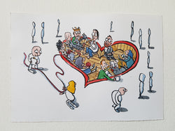 "Original ""Community heart Artwork"""