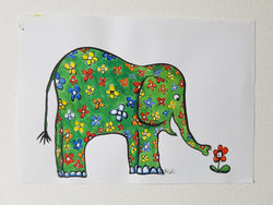 "Original ""flower elephant"""