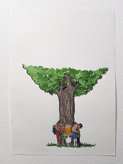 "Original  ""Group hug Tree-huggers"""