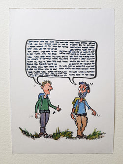 "Original  ""Walk and talk two men"""